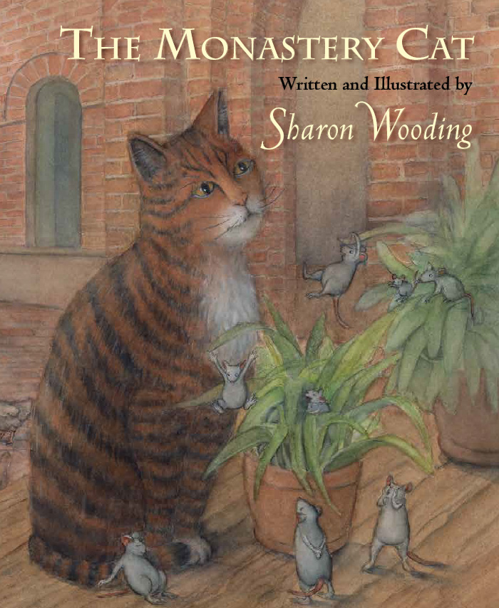 The Monastery Cat by Sharon Wooding